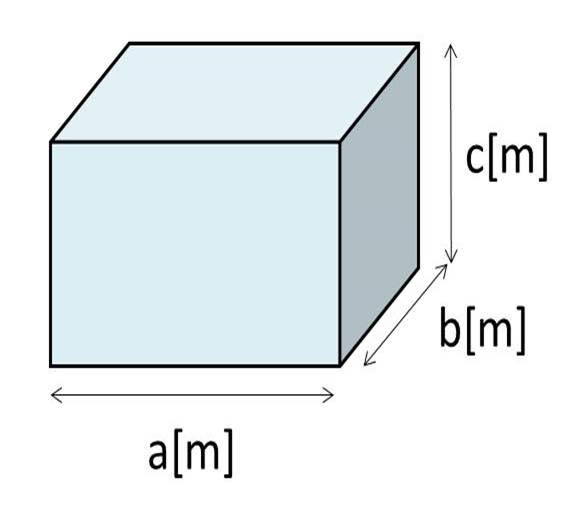 直方体 の 体積 の 求め 方