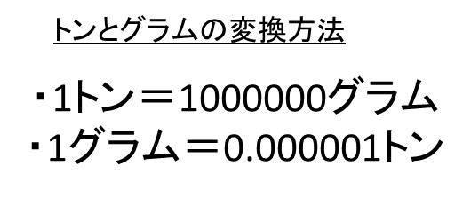 トン 1 1トンは何グラム?1分でわかる値、何ミリグラム、何立方メートル、何リットル、何キロリットル?