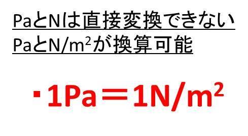 換算 パスカル 単位 真空の圧力単位
